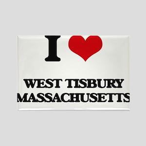 I love West Tisbury Massachusetts Magnets