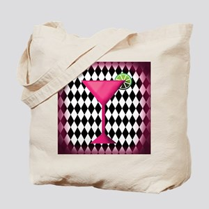 Pink Martini Black Cream Tote Bag