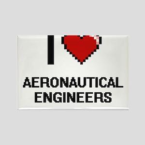 I love Aeronautical Engineers Magnets