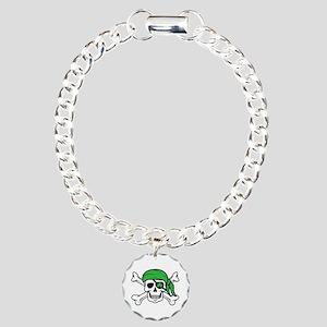 Irish Pirate Charm Bracelet, One Charm