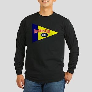 Old Mens Club Long Sleeve Dark T-Shirt
