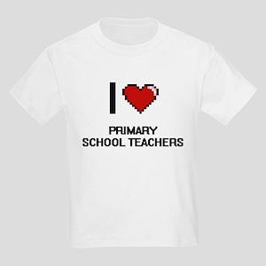 I love Primary School Teachers T-Shirt