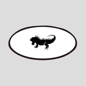 Iguana Silhouette Patch
