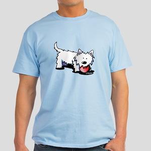 Lazy Day Westie Light T-Shirt
