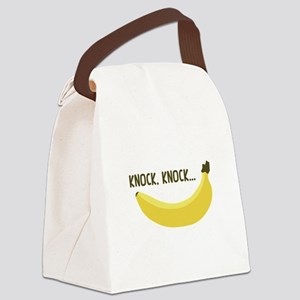 Knock, Knock Canvas Lunch Bag