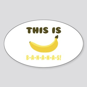 This Is Bananas Sticker