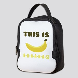This Is Bananas Neoprene Lunch Bag