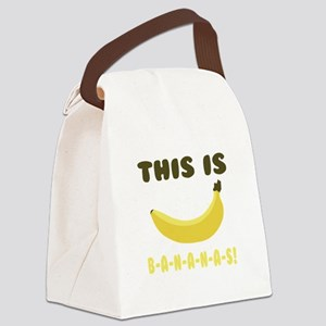 This Is Bananas Canvas Lunch Bag