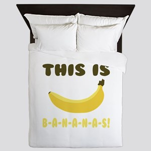 This Is Bananas Queen Duvet