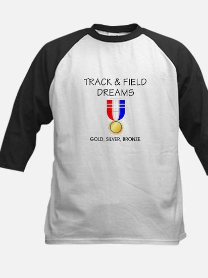 Track & Field Dreams Kids Baseball Jersey