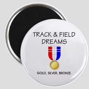 Track & Field Dreams Magnet