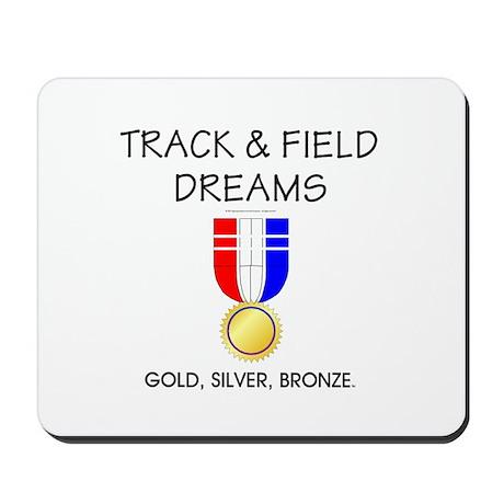 Track & Field Dreams Mousepad
