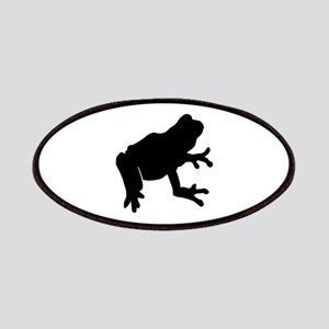 Frog Sihlouette Patch