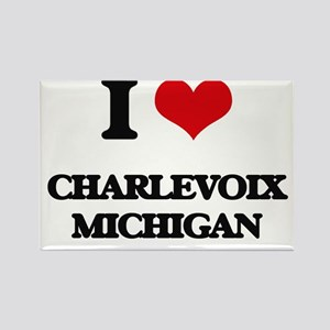 I love Charlevoix Michigan Magnets