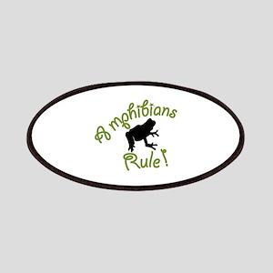 Amphibians Rule Patch