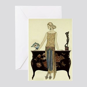 Vintage 1920s Woman Greeting Cards (Pk of 20)