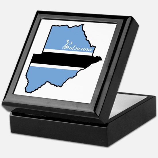 Cool Botswana Keepsake Box