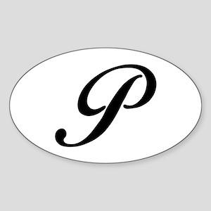 P-Bir black Sticker