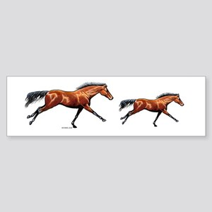 Thoroughbred Bumper Sticker