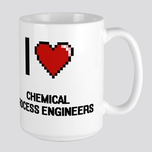 I love Chemical Process Engineers Mugs