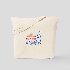ALL AMERICAN COWBOY Tote Bag