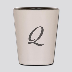 Q-Bir gray Shot Glass