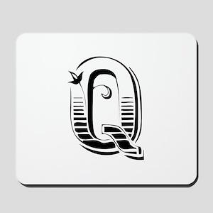 Q-Max black Mousepad