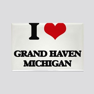 I love Grand Haven Michigan Magnets