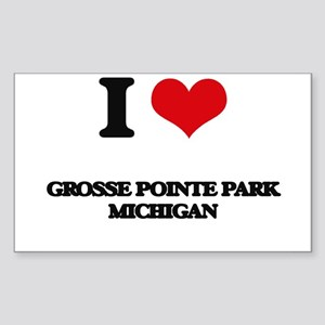 I love Grosse Pointe Park Michigan Sticker