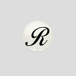 R-Bir black Mini Button