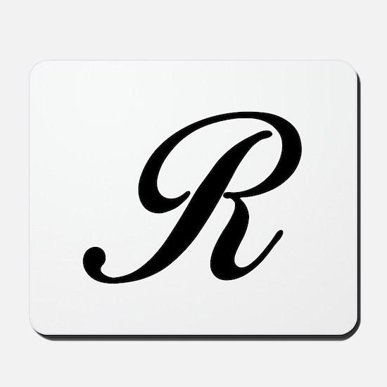 R-Bir black Mousepad