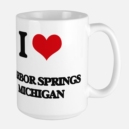 I love Harbor Springs Michigan Mugs