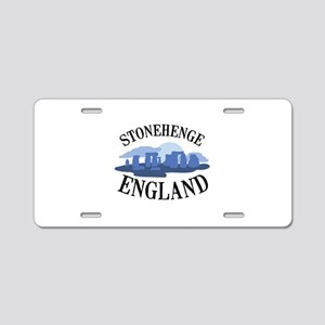 Stonehenge England Aluminum License Plate