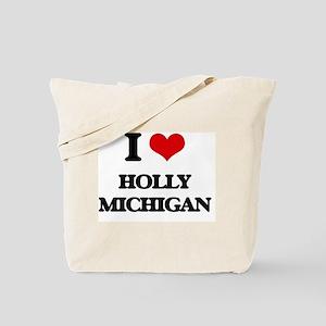 I love Holly Michigan Tote Bag