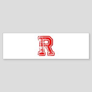 R-Col red Bumper Sticker