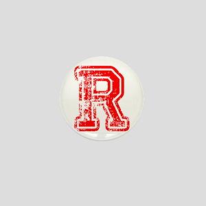 R-Col red Mini Button