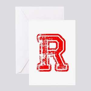 R-Col red Greeting Cards