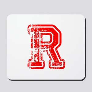 R-Col red Mousepad