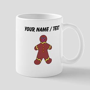 Ginger Bread Man (Custom) Mugs