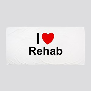Rehab Beach Towel