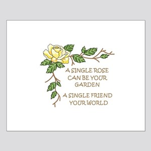 A SINGLE ROSE... Posters