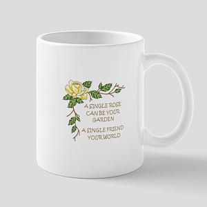 A SINGLE ROSE... Mugs
