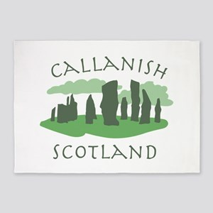 Callanish Scotland 5'x7'Area Rug