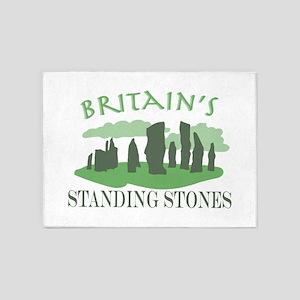 Britains Standing Stones 5'x7'Area Rug