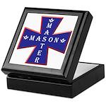 Master Masons Cross Keepsake Box