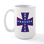 Master Masons Cross Large Mug