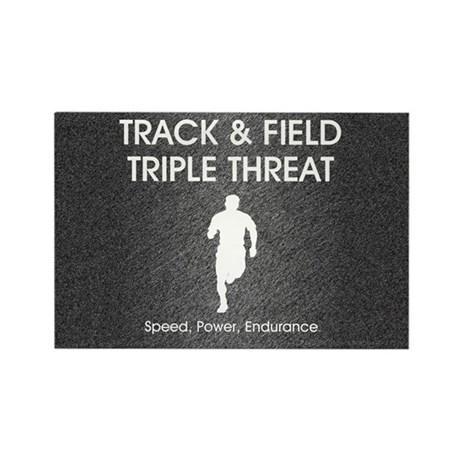 TOP Track and Field Rectangle Magnet (100 pack)