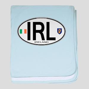 irl-euro-oval2 baby blanket