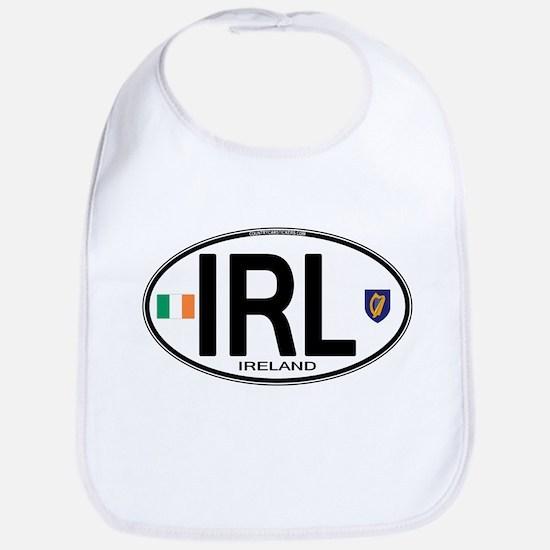 irl-euro-oval2 Baby Bib