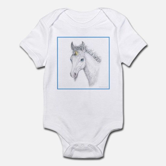Unicorn Foal Infant Creeper